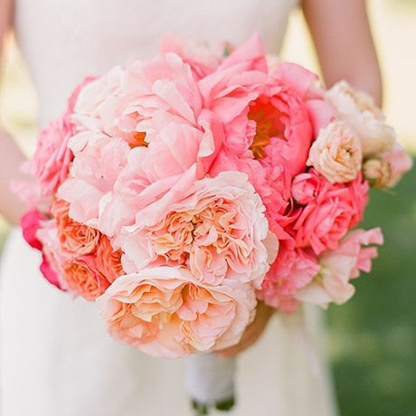 Peony Roots - Bridal Bouquet