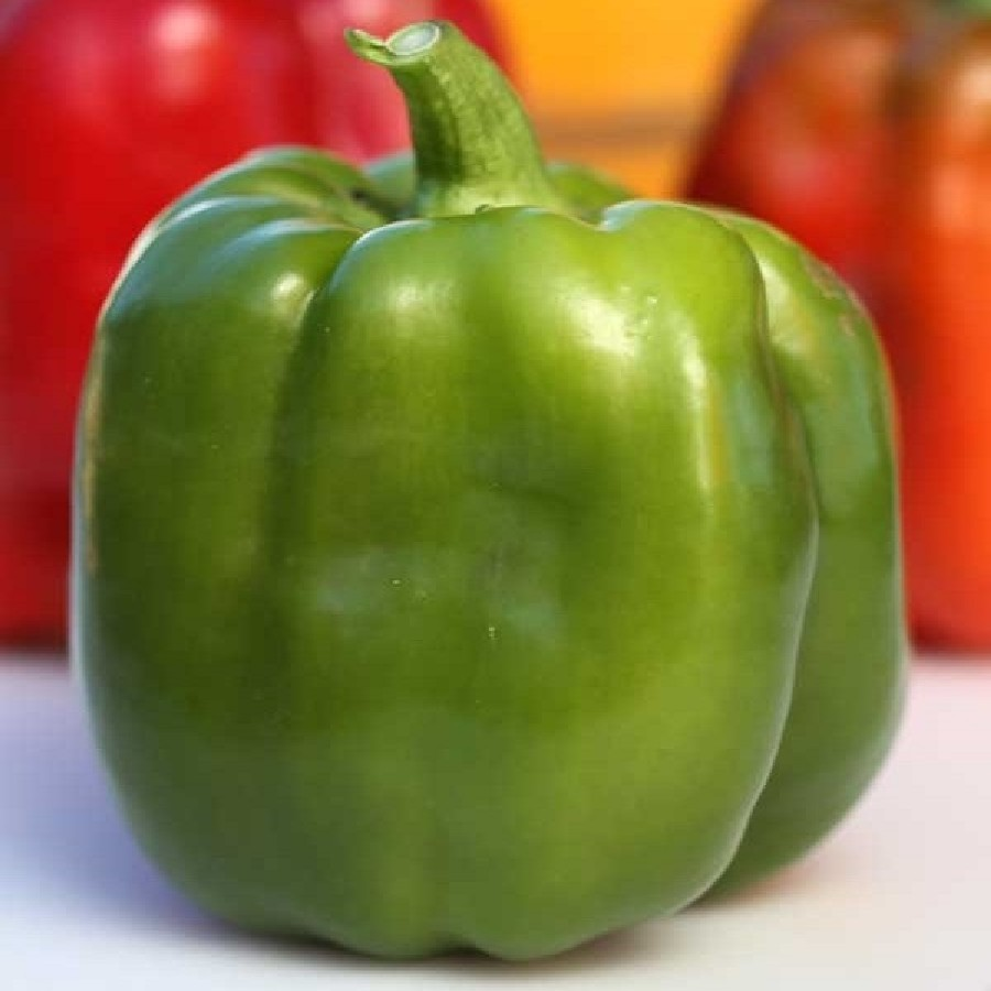 Sweet Pepper Seeds (Organic) - Emerald Giant