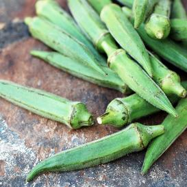 Okra Seeds - Emerald