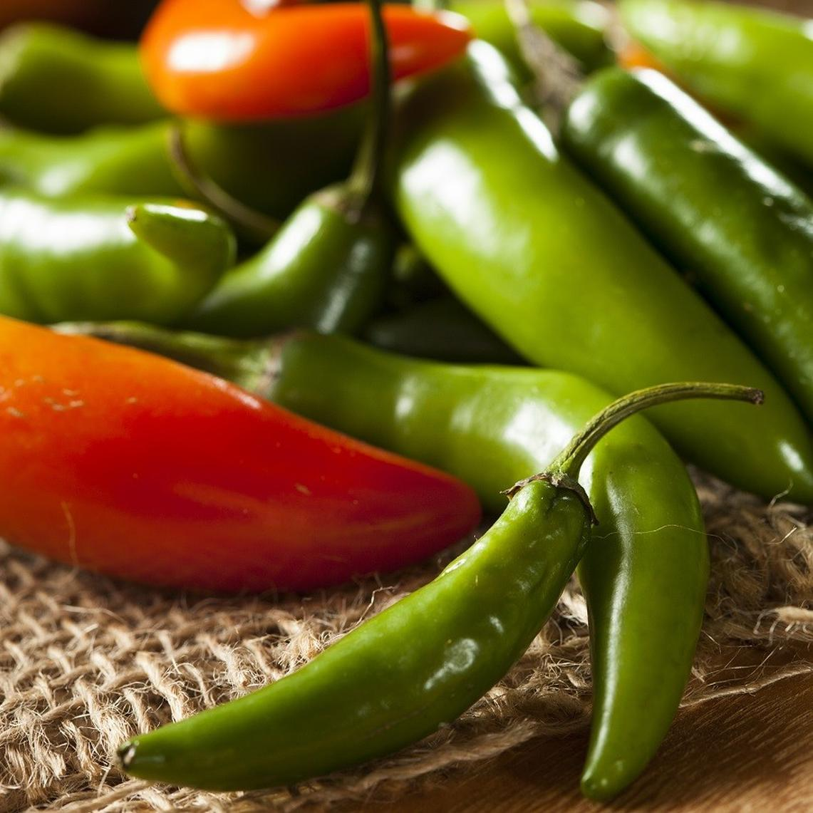 Hot Pepper Seeds - Serrano