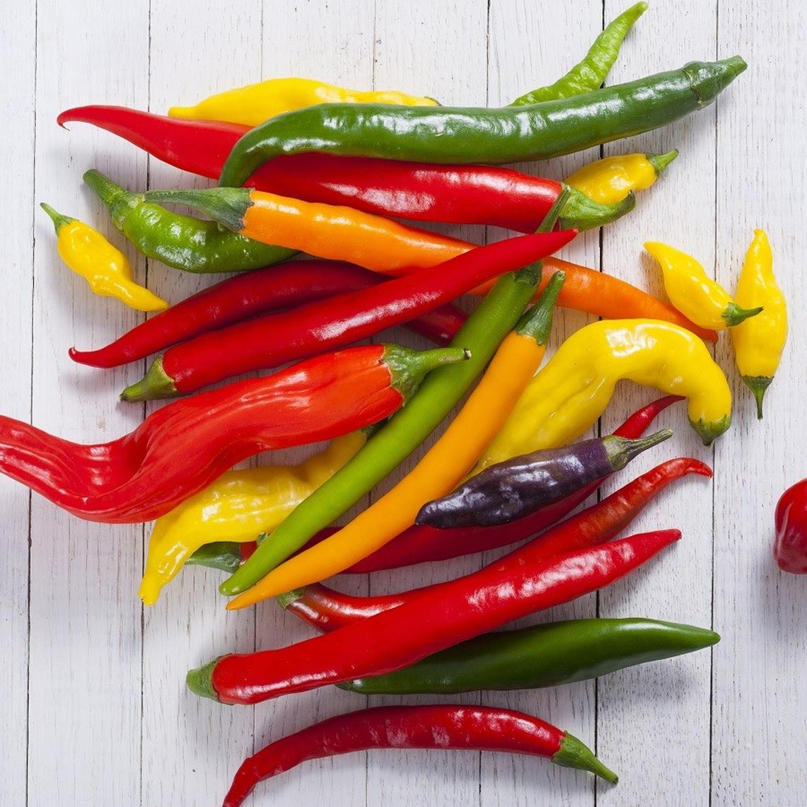 Hot Pepper Seeds - Cayenne Blend