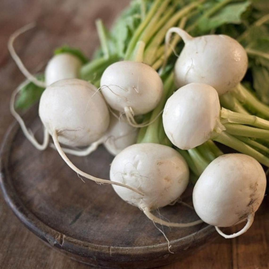 Turnip Seeds - White Egg